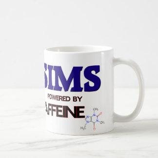 Sims accionó por el cafeína tazas