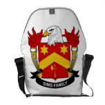 Sims Family Crest Courier Bag