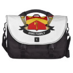Sims Family Crest Laptop Bag
