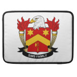 Sims Family Crest Sleeves For MacBook Pro
