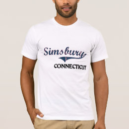 Simsbury Connecticut City Classic T-Shirt