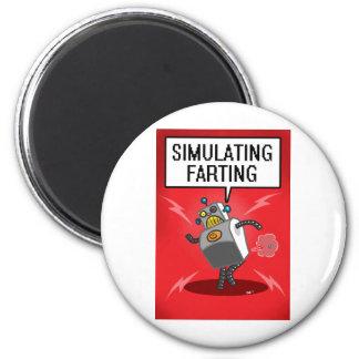 Simulación de Farting Imán Redondo 5 Cm