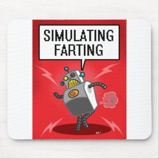 Simulación de Farting Alfombrillas De Ratones