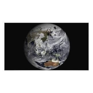 Simulación de la nube de la tierra llena fotografía