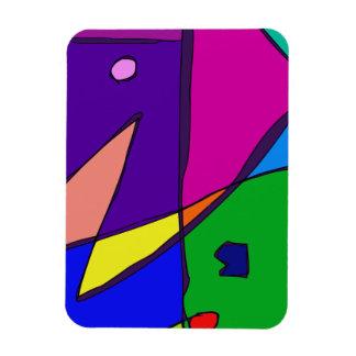 Simulación del vitral rectangle magnet