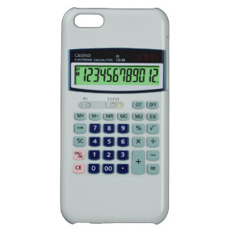 Simulated Calculator iPhone 5C Cover