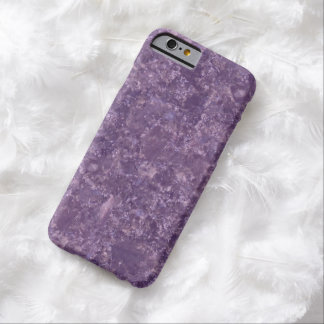 Simulated Deep Purple Marble Pattern iPhone 6 Case