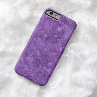 Simulated Lilac And Plum Marble iPhone 6 Case