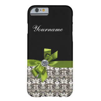 Simulated Rhinestone Jewel Bling Barely There iPhone 6 Case