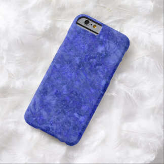 Simulated Royal Blue Marble iPhone 6 Case