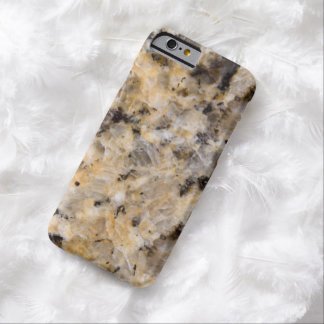 Simulated Speckled Beige Marble iPhone 6 Case