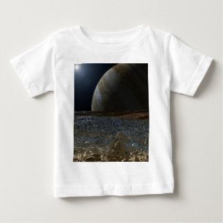 Simulated View from Europa's Surface Baby T-Shirt