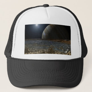 Simulated View from Europa's Surface Trucker Hat