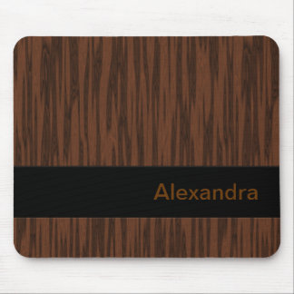 Simulated Walnut Mouse Pad