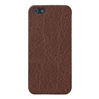 Simulated Western Leather iPhone SE/5/5s Case