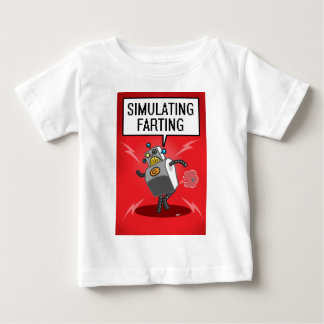 Simulating Farting Baby T-Shirt