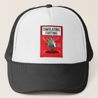 Simulating Farting Trucker Hat