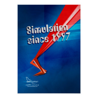 Simulation since 1997 poster