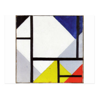 Simultaneous Counter Composition Theo van Doesburg Postcard