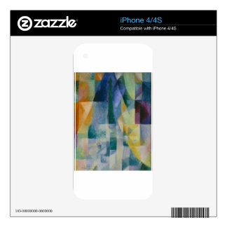 Simultaneous Windows by Robert Delaunay Skin For The iPhone 4S