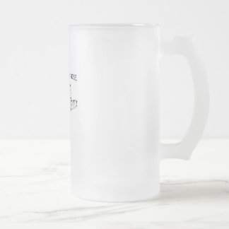 Simulus Package too Frosted Glass Beer Mug