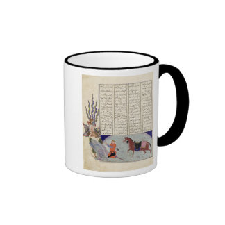Simurgh offers Zal, the father of Roustem Coffee Mugs