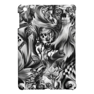 Sin and smoke melting skulls cover for the iPad mini