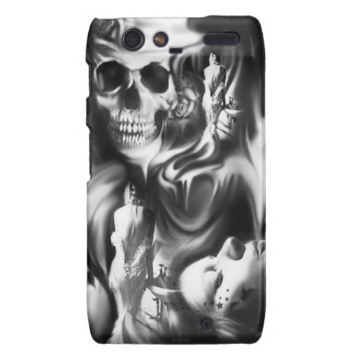 Sin and Smoke, PJ on a bad Day Products. Motorola Droid RAZR Case