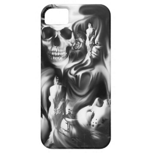Sin and Smoke, PJ on a bad Day Products. iPhone 5 Cases