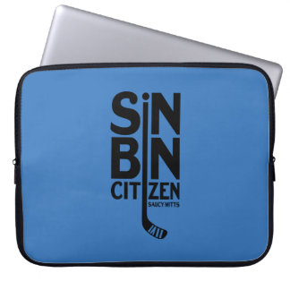 Sin Bin Citizen Hockey Computer Sleeve