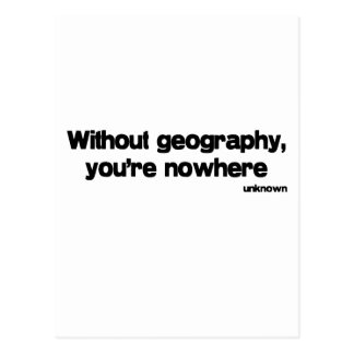 Sin cita de la geografía tarjetas postales