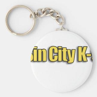 Sin City K9 Llavero Redondo Tipo Pin