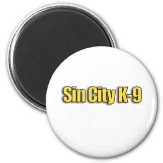 Sin City K9 Refrigerator Magnets