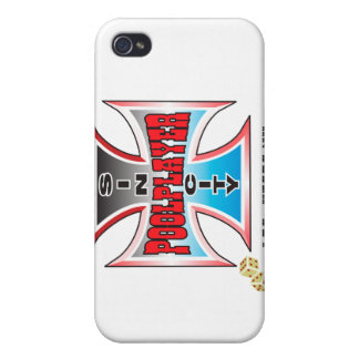 Sin City Pool Player iPhone 4/4S Covers