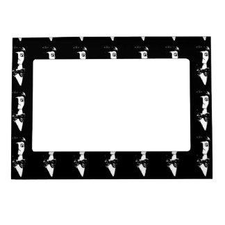 Sin City Style Man - Black & White Magnetic Frame