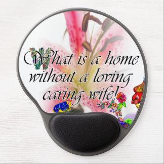 Sin cuál está un hogar…. alfombrilla de raton con gel