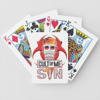 SIN Cult of Me Playing Cards