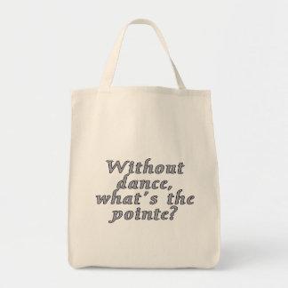 ¿Sin danza, cuál es el pointe?