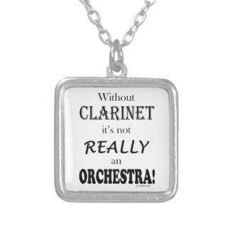 Sin el Clarinet - orquesta Joyeria Personalizada
