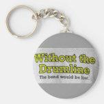 Sin el Drumline Llavero Personalizado