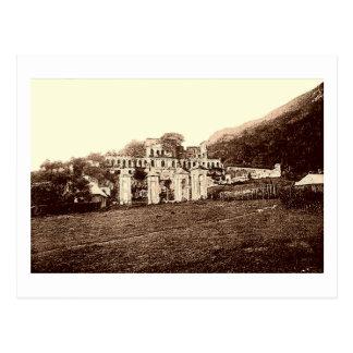 Sin el palacio de Souci, Milot, Haití, postal del