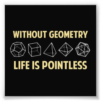 Sin geometría la vida es insustancial fotografías