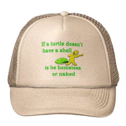 Sin hogar o desnudo gorras de camionero