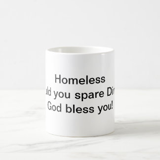 Sin hogar taza