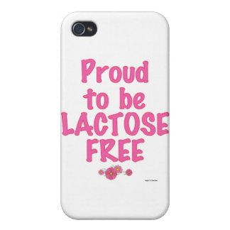 Sin lactosa - rosa iPhone 4 carcasa