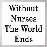 Sin las enfermeras los extremos del mundo posters