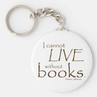 Sin los libros llaveros