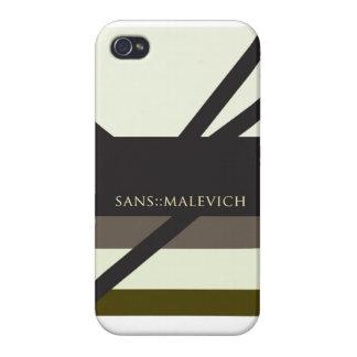 """Sin Malevich "" iPhone 4 Carcasas"