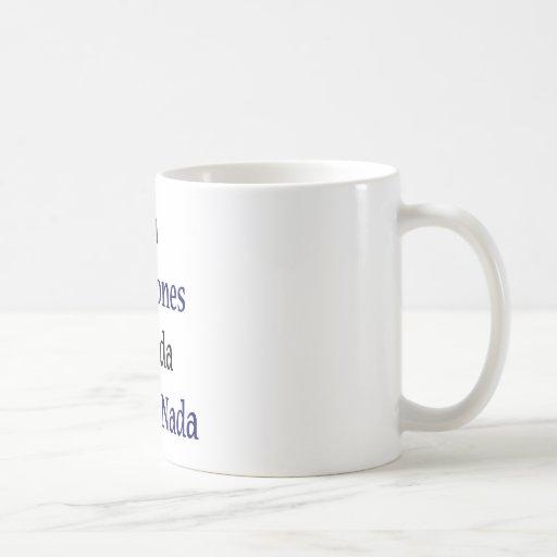 Sin Maratones La Vida No Vale Nada Classic White Coffee Mug