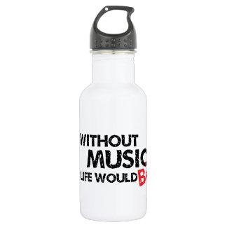 Sin música, la vida B plano